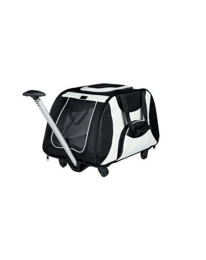 TRIXIE Trolley für Katze schwarz/grau 34x43x67 cm