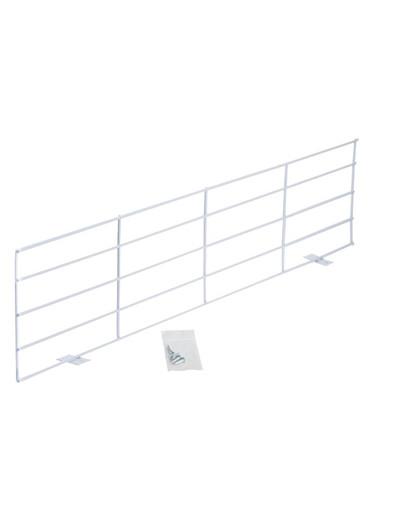 TRIXIE 4417 Schutzgitter für Fenster, oben/unten, 65 × 16 cm, weiß 11650