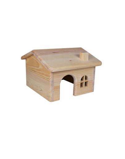 TRIXIE Holzhaus für Kleinnager 15×11×15 cm 11757