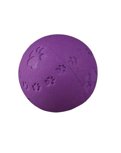 TRIXIE Spielball mit Pfotenabdruck, Quietscher 7 cm