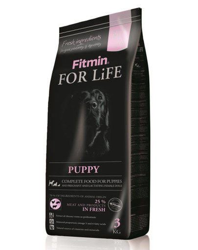FITMIN Dog for life puppy 3 kg