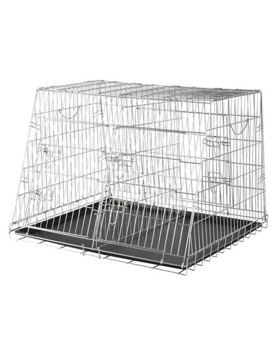 TRIXIE Home Kennel, doppelt 90 × 64 × 79 cm