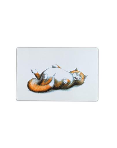 TRIXIE Napfunterlage Dicke Katze