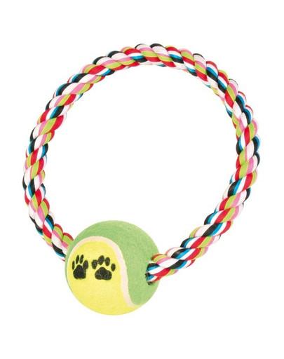 TRIXIE Tauring mit Tennisball