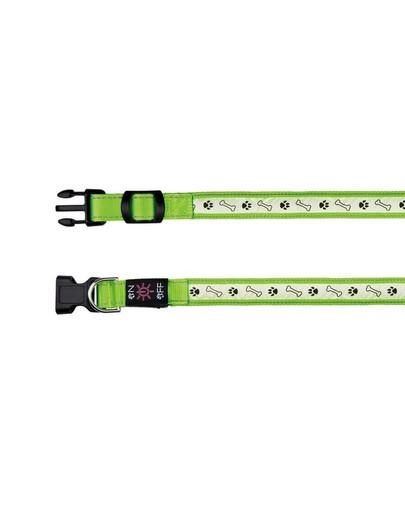 TRIXIE Flash Leuchthalsband USB L–XL: 50–60 cm/25 mm