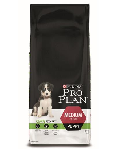PURINA PRO PLAN Medium Puppy mit OPTISTART Reich an Huhn12kg
