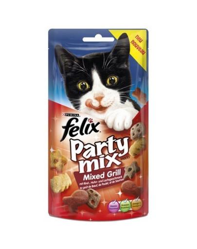 FELIX Party Mix Gemischter Grillgeschmack Rind, Huhn und Lachs