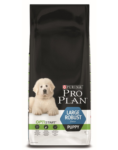 ​PURINA PRO PLAN Large Robust Puppy mit OPTISTART Reich an Huhn 12kg