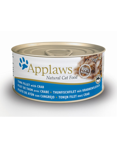 APPLAWS  Tuna Fillet & Crab 70g
