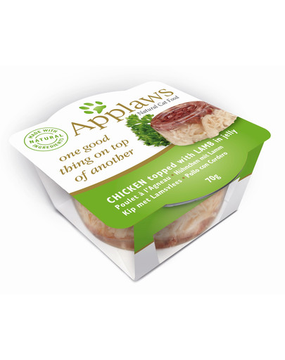 APPLAWS Applaws Cat Chicken Layers mit Lamb 70 g