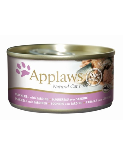 APPLAWS Mackerel & Sardine 70 g