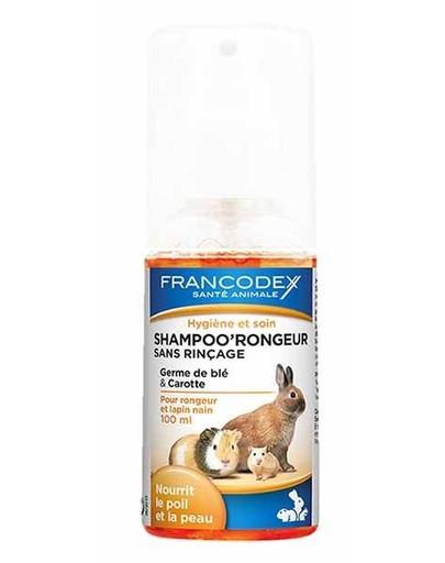 FRANCODEX Trockenshampoo für Kaninchen & Nagetier 100 ml 34226