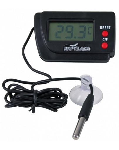 TRIXIE Digital-Thermometer, fernfühlend für Terrarium