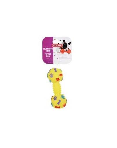 ZOLUX Hundespielzeug Hantel aus Vinyl für Hunde 6 x 6 x 15 cm