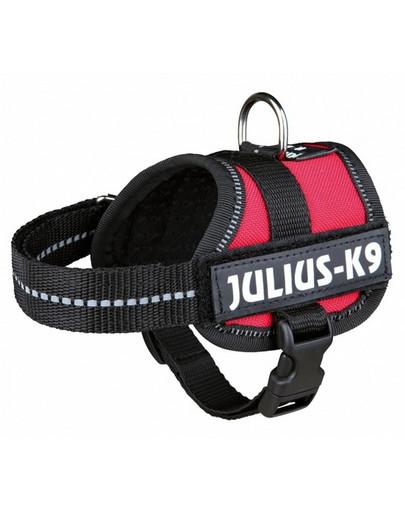 TRIXIE Julius K9 Powergeschirr Gr. 0 M bis L: 58 bis 76 cm, rot