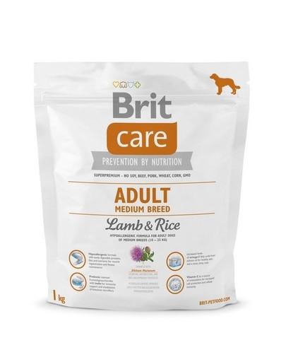 BRIT Care Adult Medium Breed Lamb&Rice 1kg
