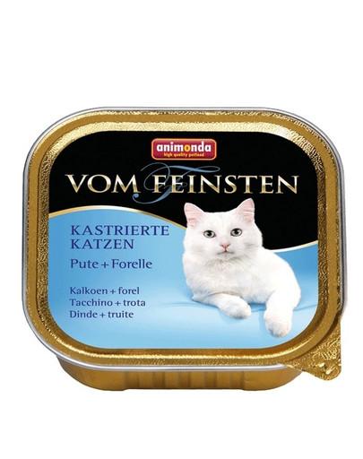 ANIMONDA Vom Feinsten Vom Feinsten Kastrierte Katzen Pute + Forelle 100 g