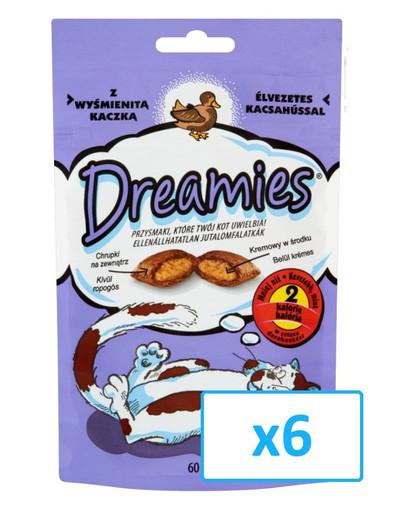 DREAMIES mit köstlicher Ente 60g x 6