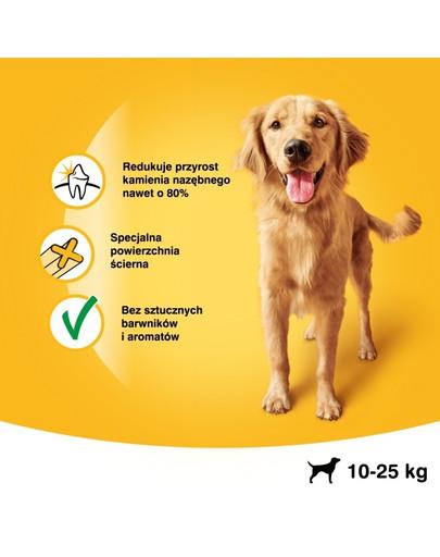 PEDIGREE DentaStix (mittelgroße Rasse) Zahnpflegemittel für Hunde 7stck. - 180g
