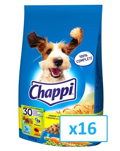 Chappi mit Geflügel und Gemüse 500g x16