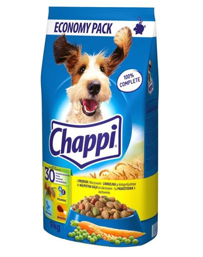 Chappi mit Geflügel und Gemüse 9 kg 31011