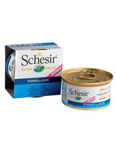 SCHESIR Kitten Thunfisch mit Aloe 85G 37269