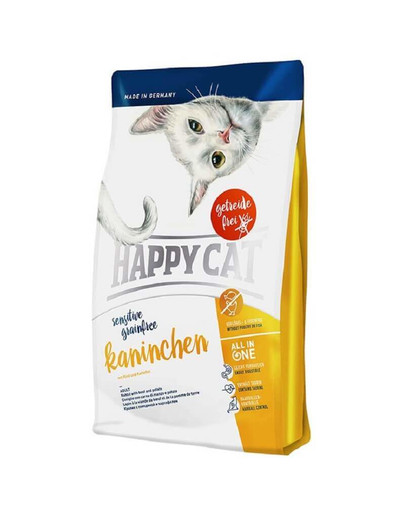 HAPPY CAT Sensitive Grainfree Kaninchen 4 kg