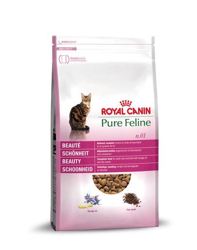 ROYAL CANIN Pure Feline n.01 Schönheit Trockenfutter für Katzen 1,5 kg