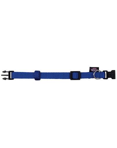 TRIXIE Premium-Halsband mit Kunststoffschließe Xxs–XS: 15–25 cm/10 mm, Blau