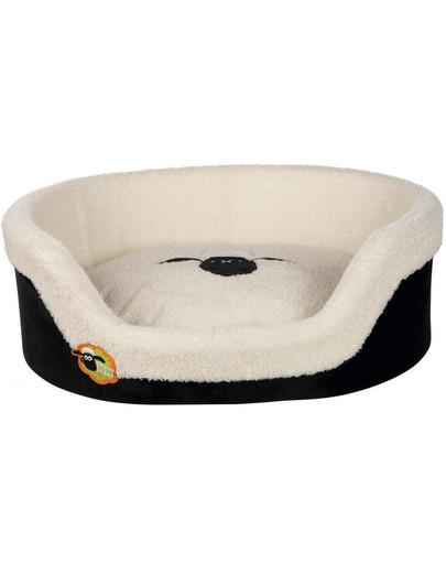 TRIXIE Shaun das Schaf Hundebett Hundekorb oval, 100 × 75 cm 38131