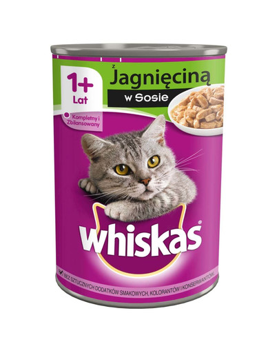 WHISKAS in Sauce mit Lamm 400g 30956