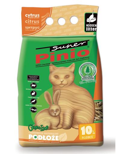 BENEK Super Pinio Katzenstreu Zitrus 10 l