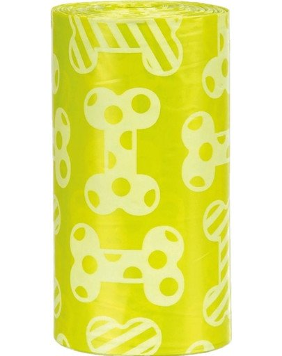 TRIXIE Hundekotbeutel mit Zitronenduft 4 Rollen à 20 St. 38500