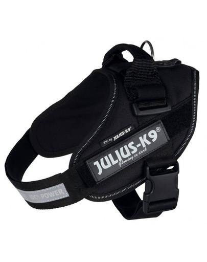 TRIXIE Julius-K9, IDC Powergeschirr, Größe: L 63–85 cm/50 mm schwarz