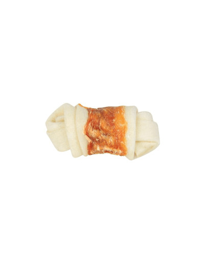 TRIXIE  '.DENTAFUN.' Denta Fun Knotted Chicken Chewing Bone 5 St. 70g