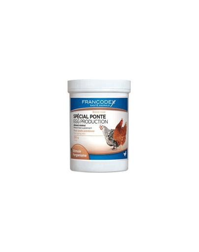 FRANCODEX Hühnerfutter, ideal für die Legezeit 250 g 42707