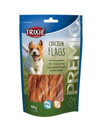 TRIXIE Snack mit Rinderhaut-Kaurollen und Hühnerbrust PREMIO 100 g 42597