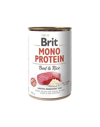 BRIT Brit mono protein beef & rice 400g 47935