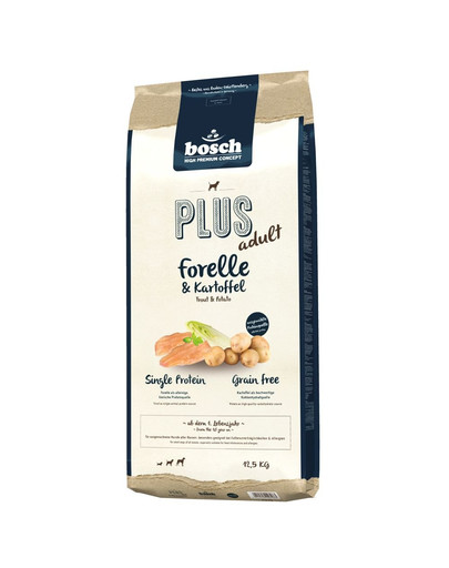 BOSCH PLUS ADULT Forelle & Kartoffel 12,5 kg