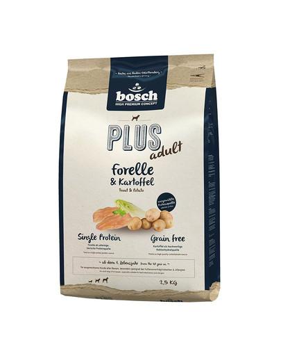 BOSCH PLUS ADULT Forelle & Kartoffel  2,5 kg