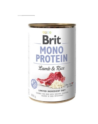 BRIT Mono protein lamb & rice 400g 47941