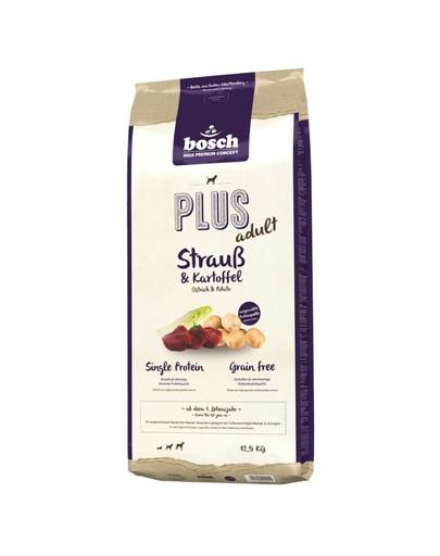 BOSCH PLUS ADULT Strauß & Kartoffel 12,5 kg