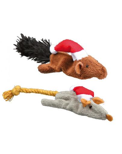 TRIXIE Katzen-Weihnachtsspielzeug 48909