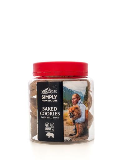 SIMPLY FROM NATURE Baked Cookies with wild boar gebackene Kekse mit Wildschweinfleisch 300g 49932