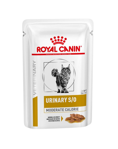 ROYAL CANIN Veterinary Diet Feline Urinary S/O Moderate Calorie 12 x 85 g 50245