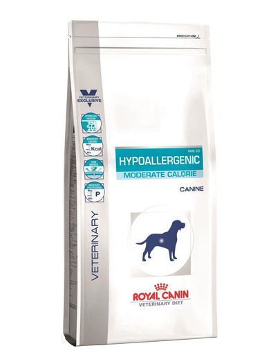 ROYAL CANIN HYPOALLERGENIC MODERATE CALORIE CANINE 14 kg