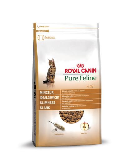 ROYAL CANIN Pure Feline n.02 Idealgewicht Trockenfutter für Katzen 1,5 kg