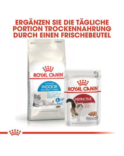 ROYAL CANIN INDOOR Appetite Control Trockenfutter für übergewichtige Wohnungskatzen 400 g