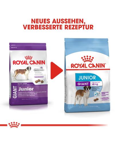 ROYAL CANIN GIANT Junior Welpenfutter trocken für sehr große Hunde 15 kg + 3 kg gratis