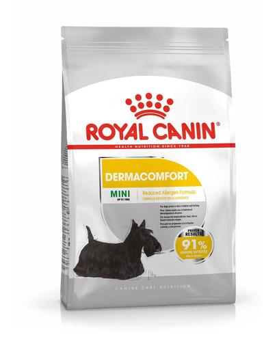 ROYAL CANIN DERMACOMFORT MINI Trockenfutter für kleine Hunde mit empfindlicher Haut 800 g